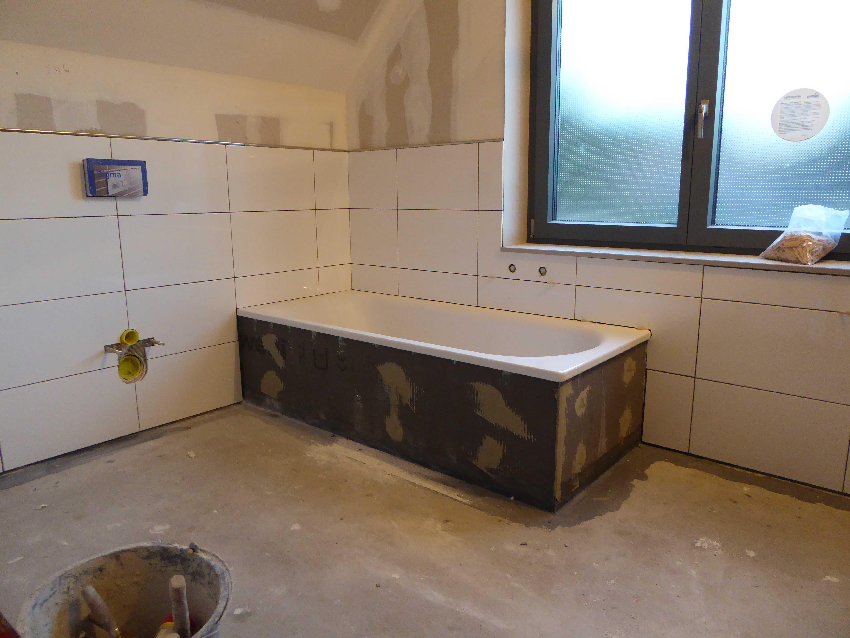 Bautagebuch unser gussek haus seite 3 for Wandfliesen bad