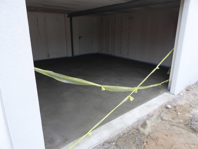 Relativ Estrich Garage | Bautagebuch WL34